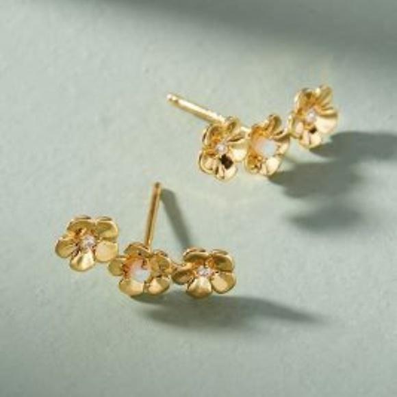Anthropologie Jewelry - Anthropologie Trenita Earring Climbers